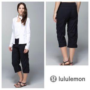 Lululemon Studio Crops in Black